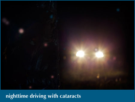 nighttime driving with catracts